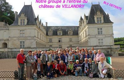 """25 et 26 Juillet 2017 : Escapade """"TOURANGELLE"""""""