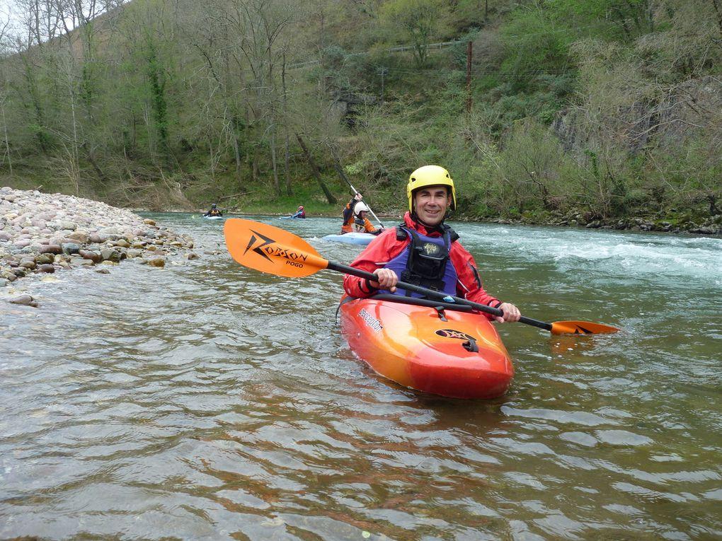 Sortie rivière du 26 et 27 mars 2011 avec le club de mérignac