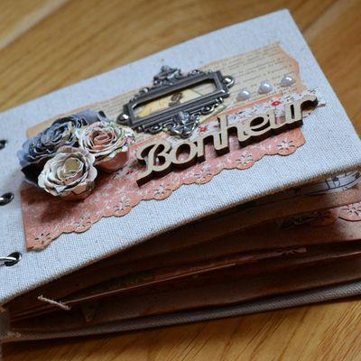 "Mini shabby ""Bonheur"""