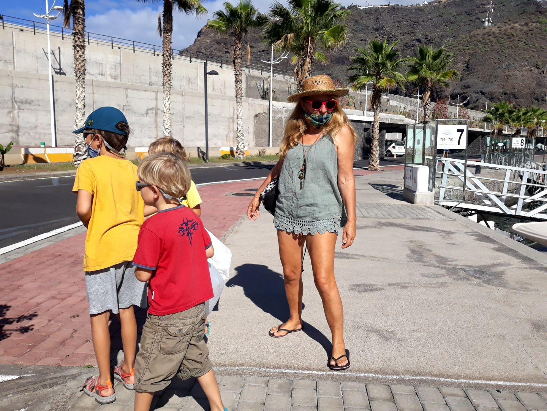 Notre journée de colibris sur Martin à la Palma !
