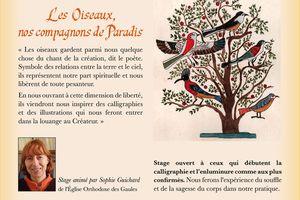 2 et 3 Août 2019 : Stage de calligraphie et d'illustration en Bretagne