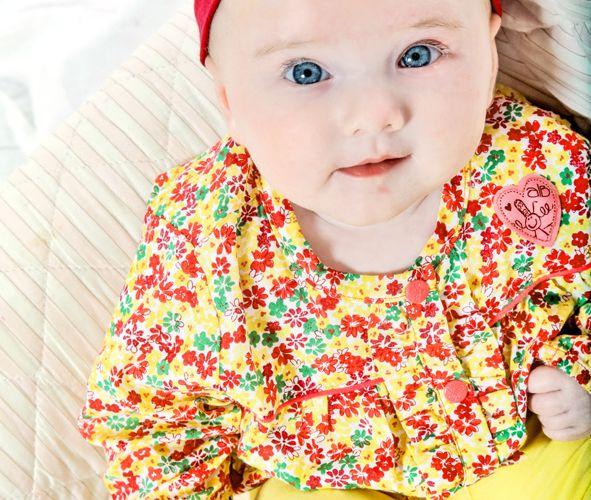 06 septembre - Portrait de ma petite Lali 4 mois