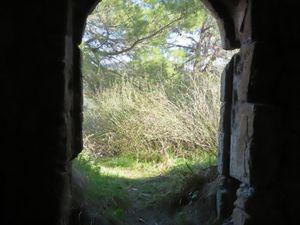 La maison vue de l'intérieur...
