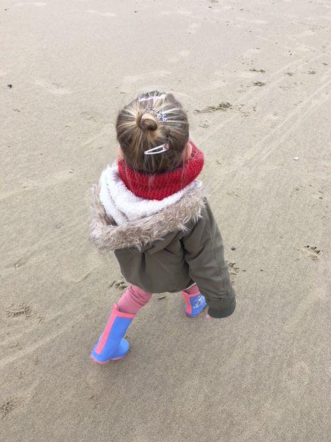 La Minie à la plage