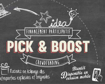 Pick&Boost : l'accélérateur de vos projets !