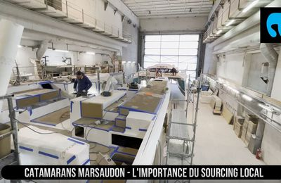 Catamarans Marsaudon - un ADN fort, porté par un sourcing local