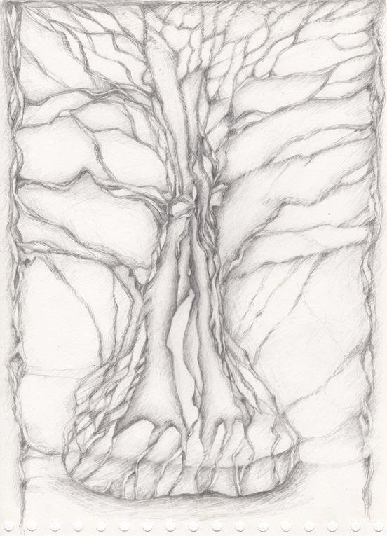 Fragment de vie crayon sur canson 2014