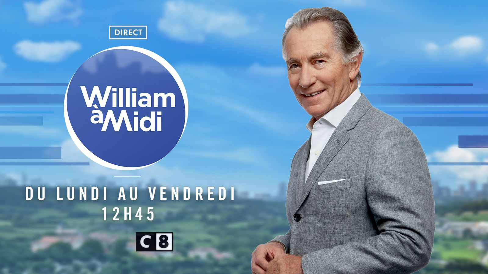 William à Midi en forme