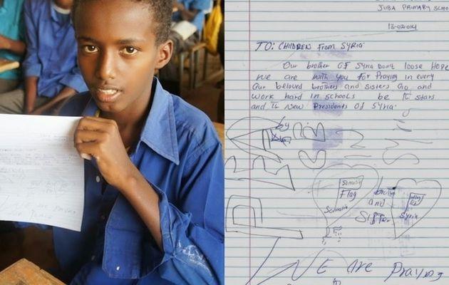 PHOTOS. Quand des réfugiés somaliens écrivent...