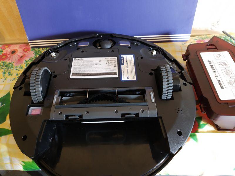 découverte de l'aspirateur robot 3-en-1 multifonctions - Bagotte BG600 @ Tests et Bons Plans