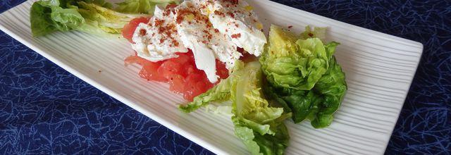Salade de burrata à l'italienne