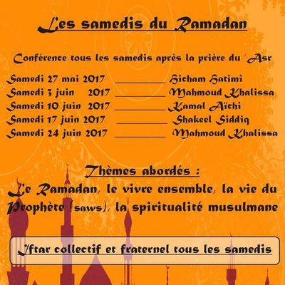 Les samedis du Ramadan
