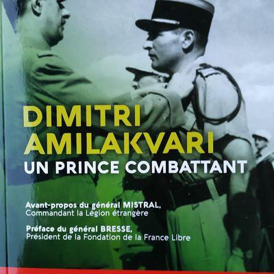 Bibliothèque : Dimitri Amilakvari, un prince combattant