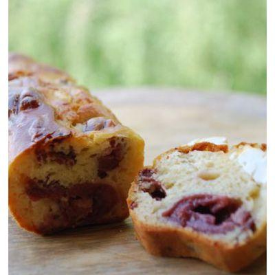 Cake magret-cerises & feta GUY DEMARLE