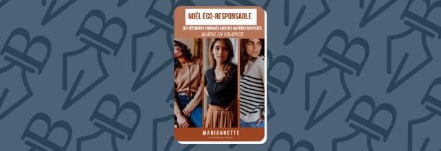 La marque toulousaine Mariannette dévoile sa nouvelle capsule 100% éco-responsable