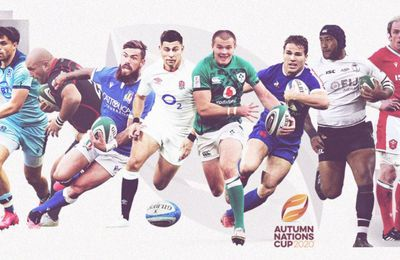 L'Autumn Nations Cup de Rugby à suivre sur beIN SPORTS !