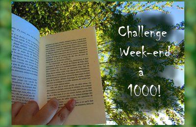 Challenge Week-end à 1000 #1 - Le Bilan