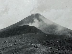 The Arenal - in 1969 - photo Germán Herrbar / Fotos antiguas of Costa Rica. - a click to enlarge