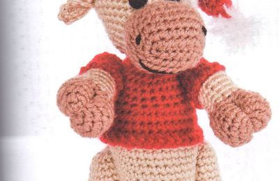 Tutoriel au crochet - Renne