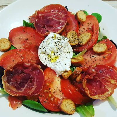 Salade aux inspirations italiennes