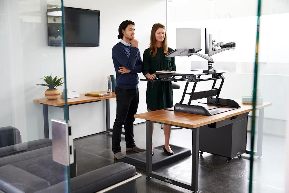 Take a Stand for Health, Stand Up With an Adjustable Desk