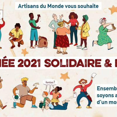Artisans du Monde Tours vous souhaite une bonne année 2021