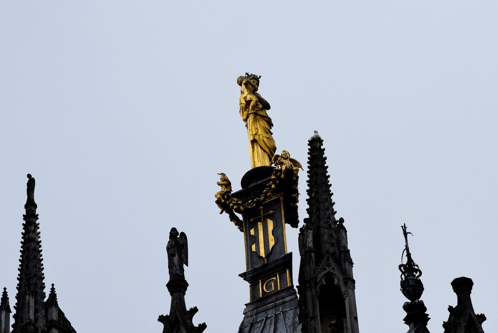 La vierge dorée et la flêche