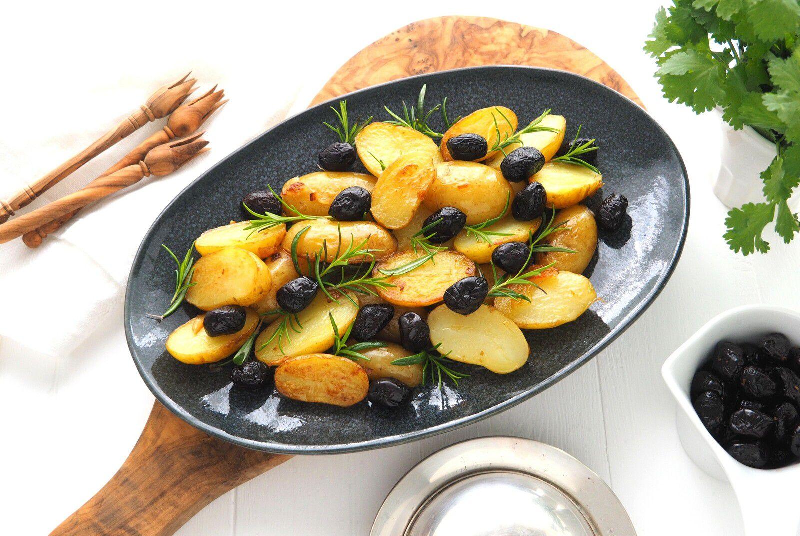 Pommes de Terre Primeur de l'Ile de Ré aux Olives et au Romarin