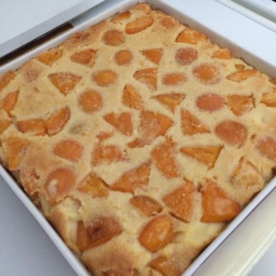 Flan abricots / amandes