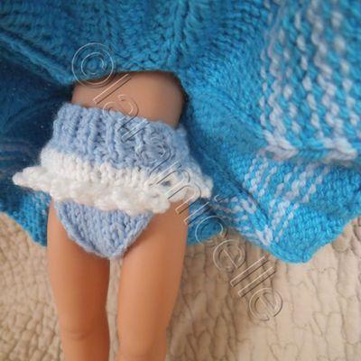 tuto gratuit paola reina: petite culotte haute à dentelles et bottes