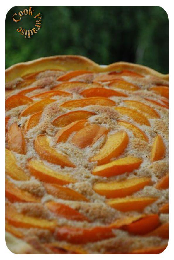 Tarte aux abricots crème d'amandes