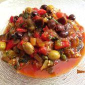 Caponata à la sicilienne - www.sucreetepices.com