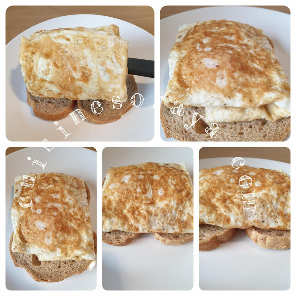 Omelette coulant express