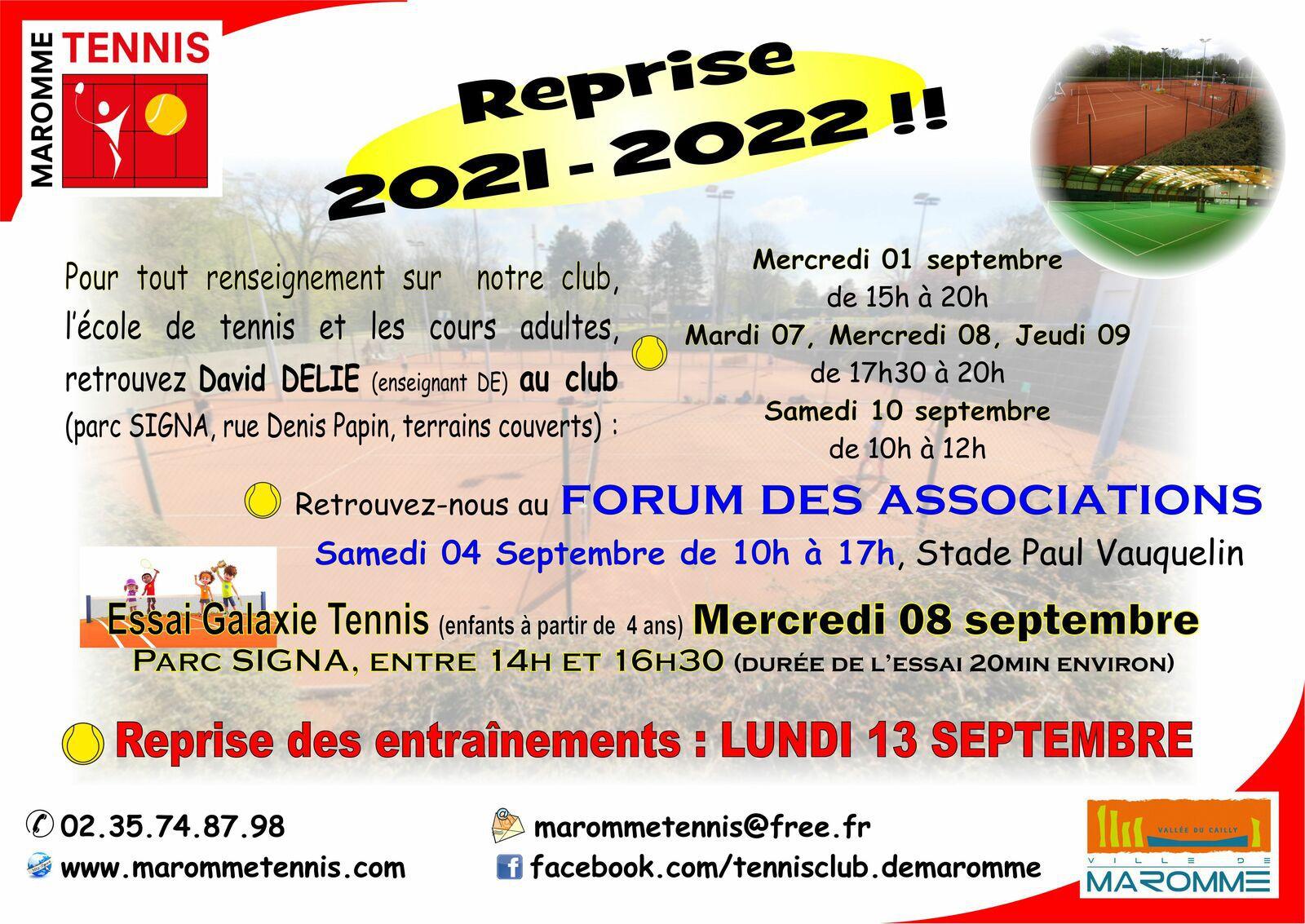 Reprise 2021-2022