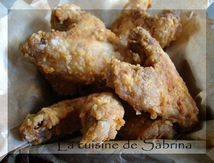 Ails de poulet frit « chicken wings »