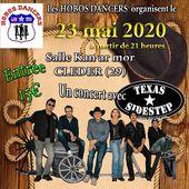 Concert Texas sidestep à CLEDER chez les Hobos dancers