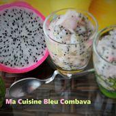 Rougail Pitaya Combava - Ma Cuisine Bleu Combava