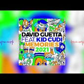 David Guetta - Memories (ft. Kid Cudi)(2021 remix) [visualizer]