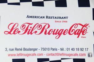 J'ai testé... Le Burger du Fil Rouge Café!