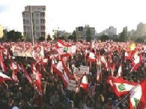 Le Liban frôle la guerre civile. Une guerre d'interêts entre l'Iran et l'Arabie Saoudite.