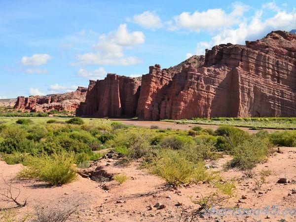 Quebrada de las Conchas - LosCastillos, Argentine en camping-car