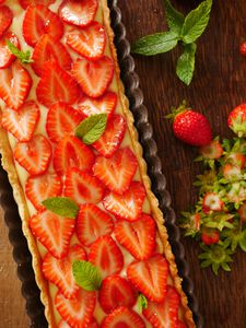 Tarte aux fraises avec le CookProcessor de Kitchenaid