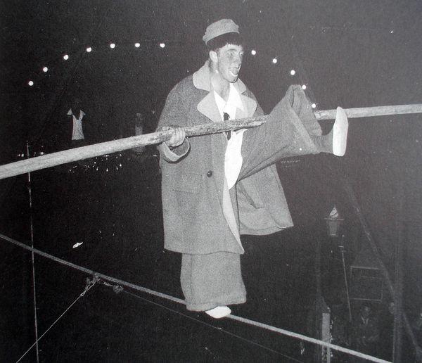 Pio Nock (1921-1998) le clown funambule