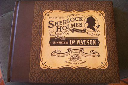Sherlock Holmes (interactive) Les crimes du Dr WATSON