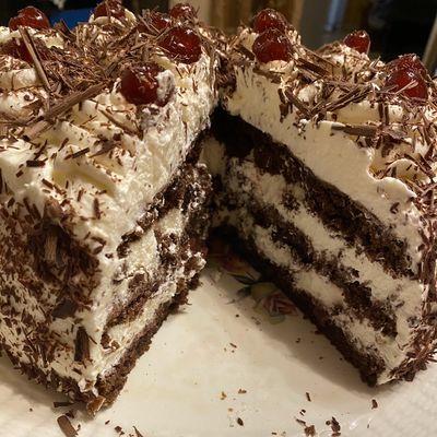 Gâteau Fôret Noire
