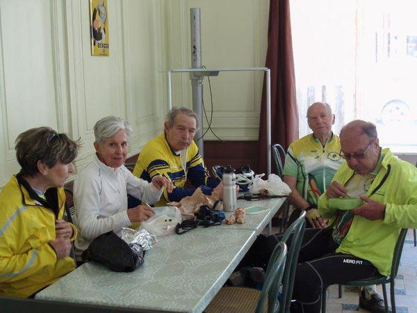Vélo découverte  **St Marcel en Dombes** 22 Mai 2015