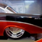 CHEVROLET BEL AIR 1956 CUSTOM JADA TOYS 1/18 - car-collector.net