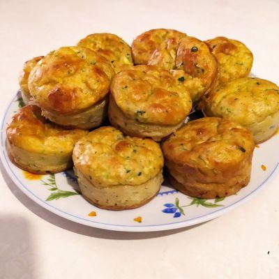 Bouchées Courgettes & Mozzarella
