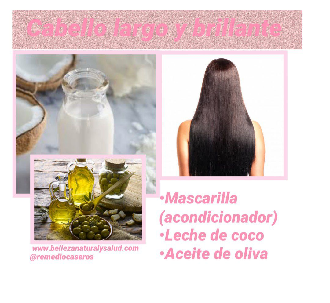 Mascarilla cabello largo y mas brillante