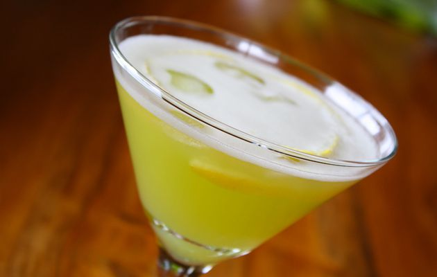 Martini melon/noix de coco au rhum